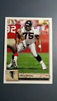 CHRIS HINTON 1992 UPPER DECK FOOTBALL CARD # 216 C0870
