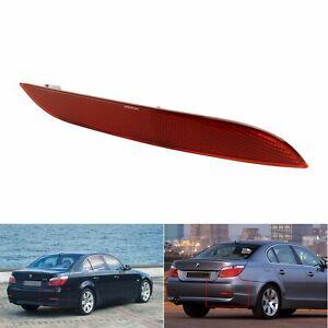 1x Right Red Rear Bumper Reflectors No Bulbs For 2003-2006 BMW 5-Series E60 E61