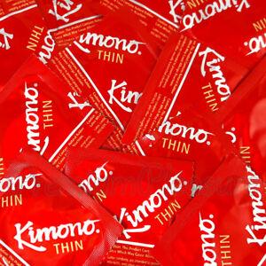 Kimono THIN condoms Lubricated Ultra thin Sensitive  Made in Japan FREE Shipping