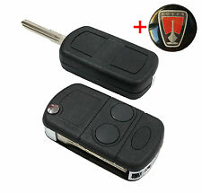 LUCAS MG Rover 25 45 ZR ZS car FLIP KEY fob + key blank +free Rover logo KEY.002
