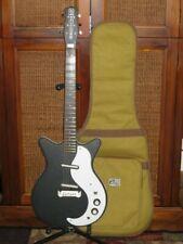 2009 Danelectro Modified Factory Spec 1959 Reissue Flat Black +bag, '59 Modified
