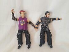 Matt & Jeff Hardy Boyz WWE Wrestling Tag Team Figures 2000 'Titan Tron' Jakks