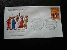 MADAGASCAR - enveloppe 9/12/74 - fokonolona - yt n° 552 - (cy7) (Z)
