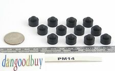"8 Hard Rubber Push-In stem Bumpers  ""Rubber Feet""  1/2"" Diameter, Fits 1/4"" Hole"