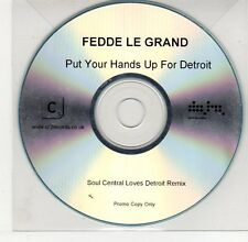(EG503) Fedde Le Grand, Put Your Hands Up For Detroit - DJ CD