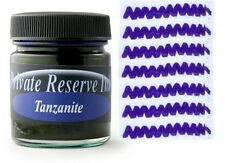 PRIVATE RESERVE - Fountain Pen Ink Bottle - TANZANITE -  66ml - New