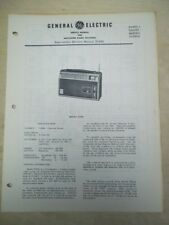 GE Service Manual~P1990/A AM-FM-SW Radio Receiver~World Monitor~General Electric