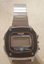 Vintage Wrangler Mens digital wristwatch watch for parts/repair/battery