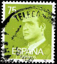 Scott # 2193 - 1981 - ' King Juan Carlos I '