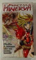 Princess Minerva VHS 1995 Anime A.D.Vision NTSC (ADV Films) [Brand New & Sealed]