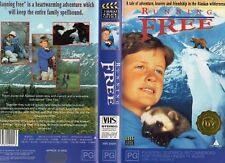 RUNNING FREE - VHS - PAL - NEW - Never played! - Original Oz release - PG-rated