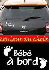 stickers autocollant bébé à Bord