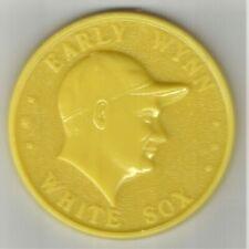 1960 Armour Coin - Early Wynn - Yellow -  Gem Mint!