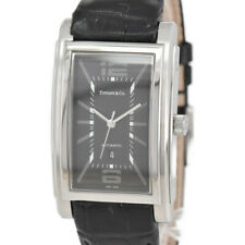 TIFFANY&Co. Ground Z0031.68.10A10A7 Black Dial Automatic Men's Watch D#97766