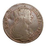 Jeton Royal France Anne d'Autriche Mère de Louis XIV XVIIème siècle