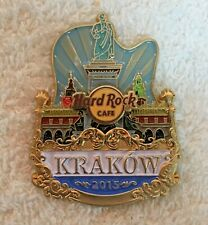 Hard Rock Cafe Krakow LE 2015 City Icon Pin