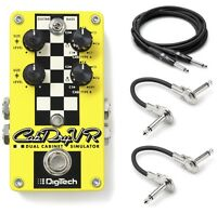 New DigiTech CabDryVR Dual Cabinet Simulator Guitar Effects Pedal! Cab Dry VR