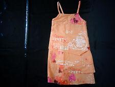 robe orange - 3 POMMES - 5 ans - comme NEUVE jamais portée, juste lavée