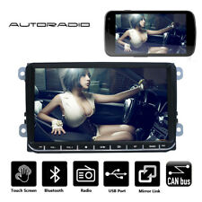 "9"" Car Stereo MP5 Player Bluetooth USB 2 DIN Fit For VW GOLF 5 V 6 PASSAT Touran"