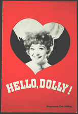 Hello, Dolly! with Dora Bryan, Hippodrome Bristol Theatre Programme 1960's