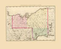 Lake Superior Michigan Gray 1873-23.00 x 29.44
