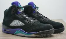 "AIR JORDAN 5 (V) RETRO ""BLACK GRAPES"" SIZE 11 DS/NEW"