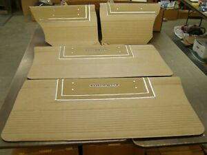 NOS OEM Ford 1965 Galaxie 500 Fastback Door Panel Set Quarter Trim Panels