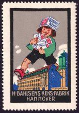 "Werbemarke ""Leibniz-Keks"" H. Bahlsen´s Keks-Fabrik, Hannover"