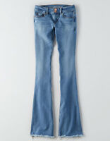 American Eagle Outfitters Women's X4 Artist Flare Jeans - Size 18 Short/Reg/Long