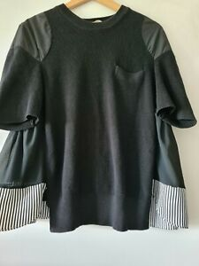 COOP BY TRELISE COOPER - Do the Striped Thing Top Size Large or Size 14-16