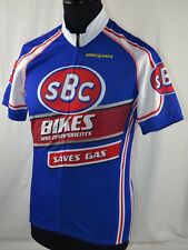 SBC Bikes Specialized Cycling Jersey M Shirt Top Short Sleeve Vintage Retro