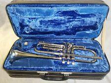Gebrauchte Trompete, schöne Trompete der Firma Musica Steyr-Austria 80er-jahre.