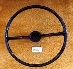 1963-64 Oldsmobile Standard Steering Wheel  - Black - Very Nice!