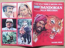 ALBUM FIGURINE SANDOKAN ALLA RISCOSSA - EDIERRE, 1977*  - VUOTO - NUOVO