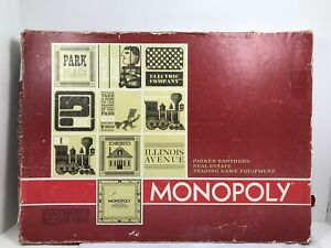Vintage 1961 Monopoly Board Game Replacement Pieces: Choose Your Own Pieces