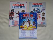 Basketball The HARLEM GLOBETROTTERS  2015/16/17 UK Arena Tours Promo tour flyers