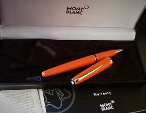 MONTBLANC  GENERATION ORANGE ROLLERBALL PEN