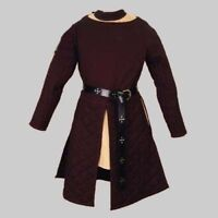 Medieval Celtic Viking Padded Armour Gambeson With Full Sleeves Custome Made