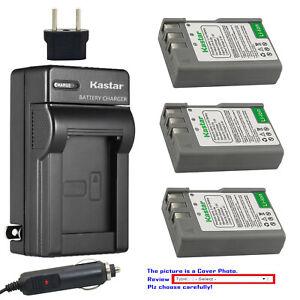 Kastar Battery AC Travel Charger for Nikon D40 D40x D60 D3000 D5000 & BG-2A Grip
