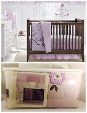 BananaFish MiGi Lilac Blossom Purple 4-piece Crib Bedding Set – New In Package