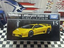 TOMICA PREMIUM #15 LAMBORGHINI DIABLO SV 1/62 SCALE NEW IN BOX