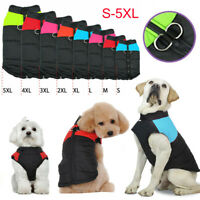 Winter Dog Warm Clothes Small Large Dogs Waterproof Pet Coat Vest Jacket 8 Sizes