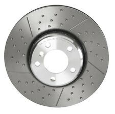 Brembo Front Left or Right Dimpled Slotted Brake Disc Rotor For BMW F22 F23 F34