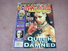 FANGORIA # 210, Queen of the Damned, Mothman Prophecies - FREE SHIPPING in USA