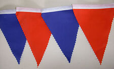 Crystal Palace Premiership Football Fabric Bunting Flags Blue & Red 2mt or more