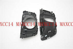 For 2014-2016 SUBARU Forester Pair Front Bumper Bezel Light Covers Fog Lamp Caps