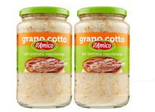 2 x D'Amico Dolce Amico, Grano Cotto per Pastiera Napoletana, 580g