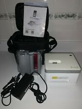 Vupoint Photo Cube Printer IP-P10-VP With Travel Storage Case Included