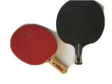 Table Tennis Ping Pong Set 2x Paddle Bats 3Balls Extending Net Portable