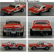 AUTO WORLD ~ '67 Mercury Cougar Rel. 24 Trans America Racing ~ FITS AURORA, AW